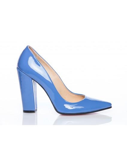 Pantofi Piele Stiletto M3  Albastru - orice culoare