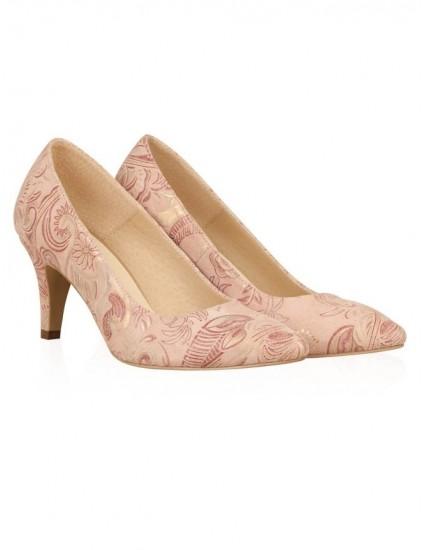 Pantofi din piele naturala N51 - pe stoc