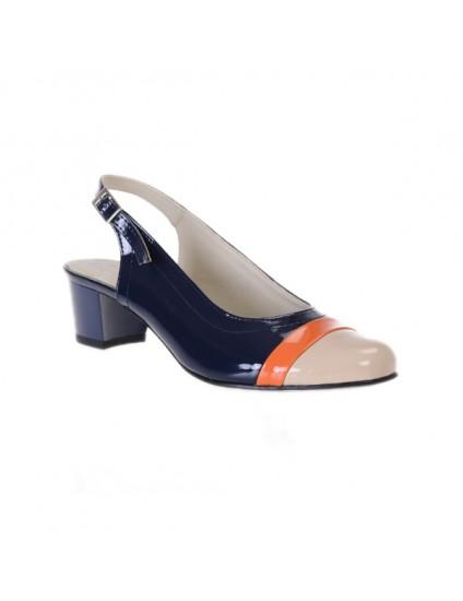 Pantofi piele naturala Office Madame - pe stoc