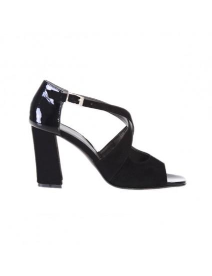 Sandale piele naturala Moni Negru  Orice culoare