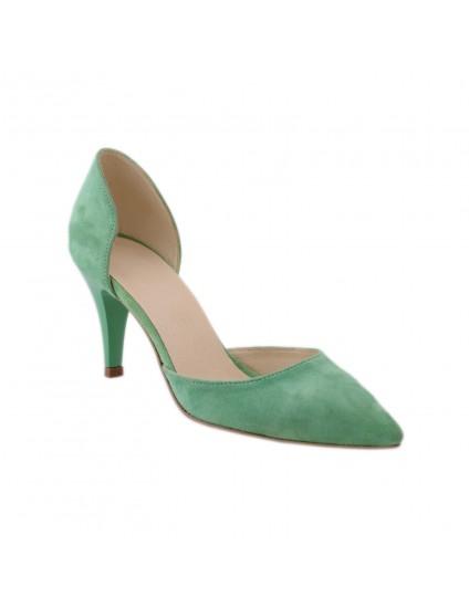 Pantofi piele naturala Stiletto Style  - disponibili pe orice culoare