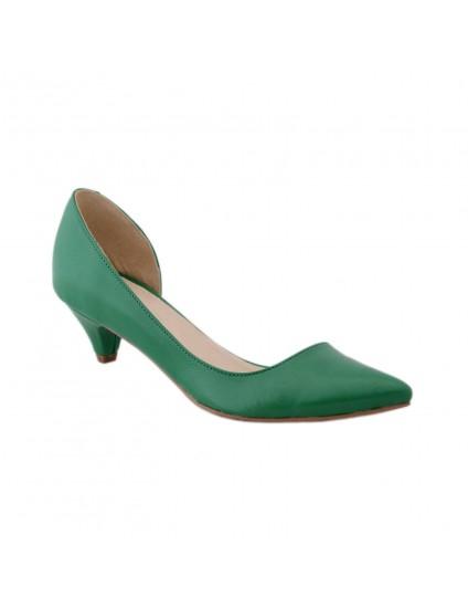 Pantofi piele naturala decupat  Style  - disponibili pe orice culoare