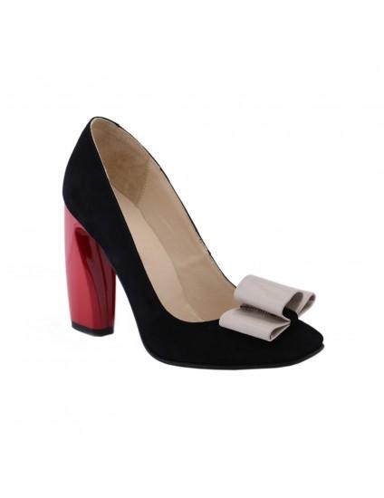 Pantofi piele Chic Madame Crook Combi - disponibili pe orice culoare
