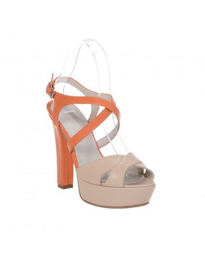 Sandale Modern 2 Combi, Piele Naturala - disponibile pe orice culoare