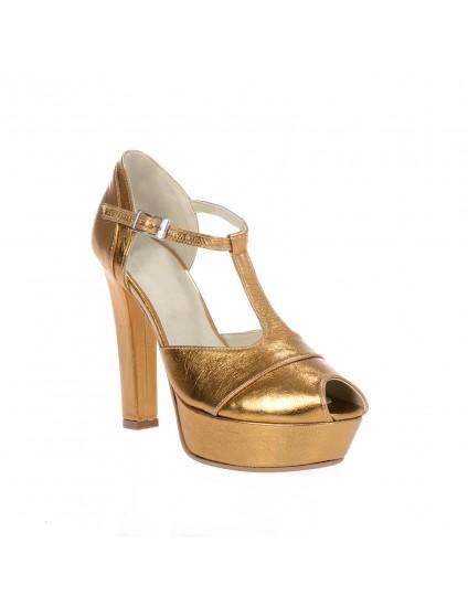 Sandale piele naturala Duet  Gold -  orice culoare