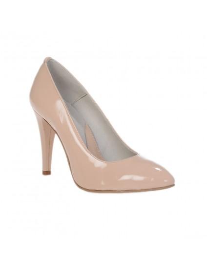Pantofi Stiletto Nude piele naturala Casual  -orice culoare