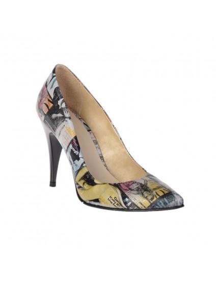 Pantofi Mini Stiletto Magazine  piele  - orice culoare