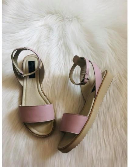 Sandale dama piele rose  V10 - pe stoc