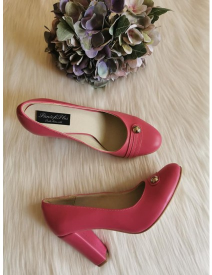 Pantofi Dama Piele Siclam Model V15 - pe stoc