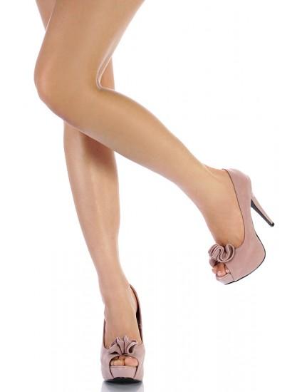 Pantofi Rufle piele naturala, disponibili pe orice culoare