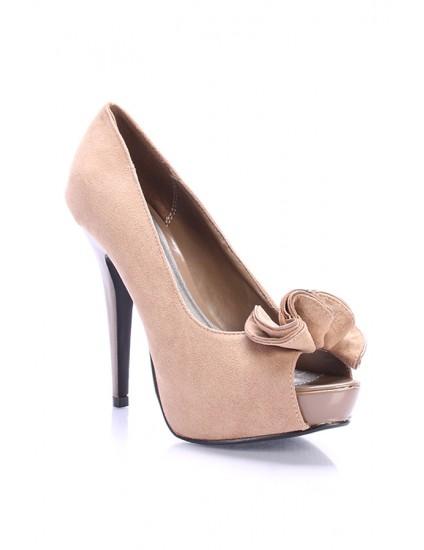Pantofi Rufle piele naturala, disponibil pe orice culoare