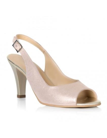 Sandale Dama Piele Auriu Cate T9 - orice culoare
