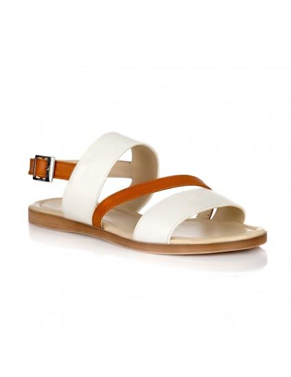 Sandale piele talpa joasa Gloria V5- orice culoare