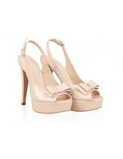 Sandale Dama Piele Nude Sweety N24  - orice culoare
