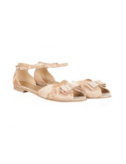 Sandale dama piele talpa joasa  N42 - orice culoare
