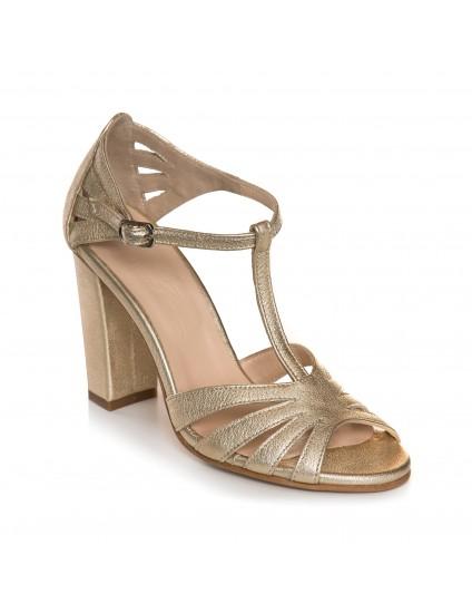 Sandale Elegante Piele Auriu ivona E4  - orice culoare