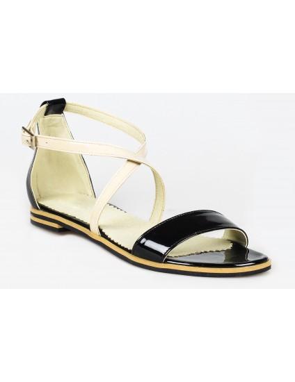 Sandale dama talpa joasa piele P10 - orice culoare