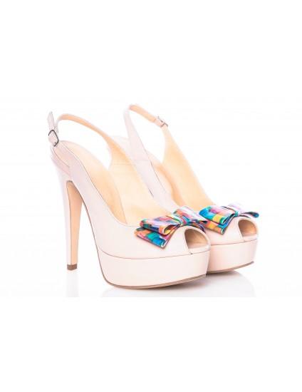 Sandale dama piele naturala Style Multicolor - pe stoc