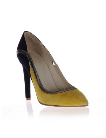 Pantofi  Stiletto Fashion piele intoarsa  - orice culoare