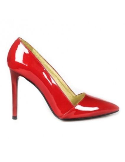 Pantofi Stiletto C10 piele Rosu - orice culoare