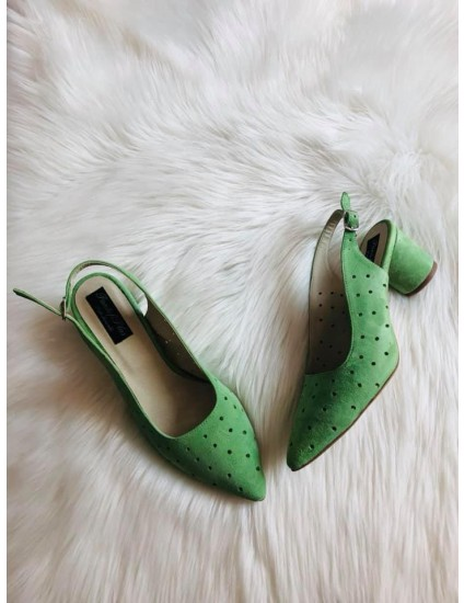 Pantofi Piele Intoarsa vernil  Confort V55 - pe stoc