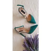 Pantofi Stiletto Verde Clara C14  - orice culoare