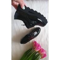 Pantofi Dama Piele Floral Clare T3  - orice culoare