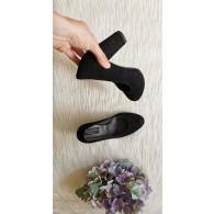 Pantofi Dama Piele negra April T30 - pe stoc