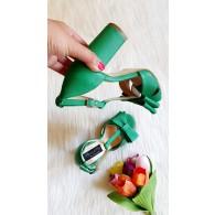Sandale Piele Gri Derin T8  - orice culoare