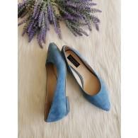 Pantofi Dama D122 Piele Naturala - orice culoare