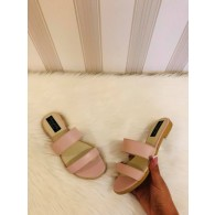 Sandale dama piele nude rose - pe stoc