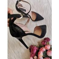 Pantofi Stiletto Negru Clara C14 - orice culoare