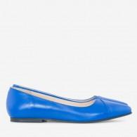 Balerini Piele Fucsia/Albastru Electric D15 - orice culoare