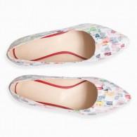 Balerini piele color Picasso D33 - Orice Culoare