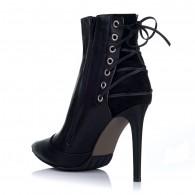 Botine Stiletto Piele Negru S1 - orice culoare