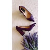 Pantofi Piele Lacuita Bleu Irene C46 - orice culoare