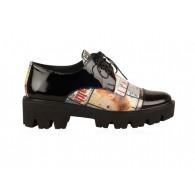 Pantofi Dama Oxford Star N12 - orice culoare