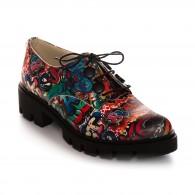 Pantofi Piele Street Fashion Renya V49  - orice culoare