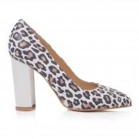 Pantofi Dama Piele Animal Print Aris T45 - Orice Culoare