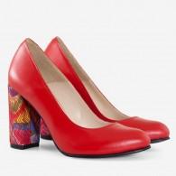 Pantofi piele naturala D34 - orice culoare