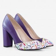 Pantofi Piele Grej Madison D56  - orice culoare
