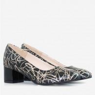 Pantofi piele naturala D42 - orice culoare