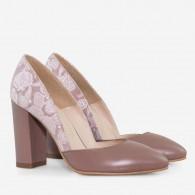 Pantofi piele naturala D43 - orice culoare