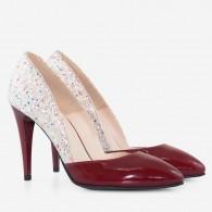 Pantofi piele naturala D49 - orice culoare