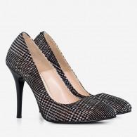 Pantofi piele naturala D54 - orice culoare