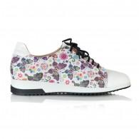 Pantofi Sport Piele Naturala Mov/Fluturas T24 - orice culoare
