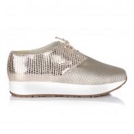 Pantofi Dama Sport Piele Auriu Light V24 - orice culoare