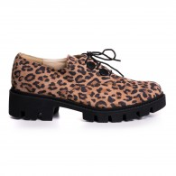 Pantofi Talpa Joasa Animal Print V30 - orice culoare