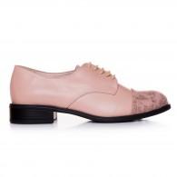 Pantofi Dama Piele Nude Casual T4  - orice culoare