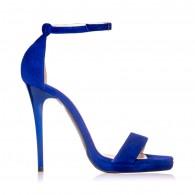 Sandale dama piele albastru electric Marlyn - Orice culoare